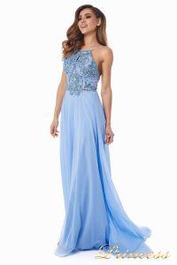 Вечернее платье 12014B. Цвет голубой. Вид 4