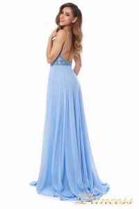 Вечернее платье 12014B. Цвет голубой. Вид 5