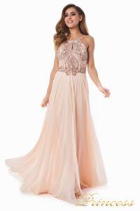 Вечернее платье 12014P. Цвет розовый. Вид 3