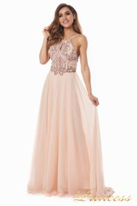 Вечернее платье 12014P. Цвет розовый. Вид 5