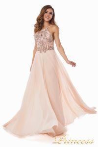 Вечернее платье 12014P. Цвет розовый. Вид 1