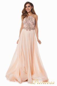 Вечернее платье 12014P. Цвет розовый. Вид 2