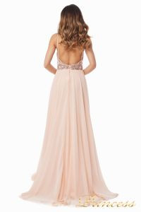 Вечернее платье 12014P. Цвет розовый. Вид 7