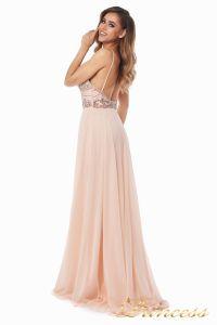 Вечернее платье 12014P. Цвет розовый. Вид 6
