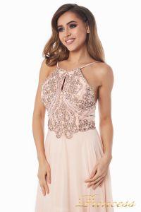 Вечернее платье 12014P. Цвет розовый. Вид 4