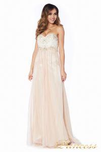 вечернее платье 12015-2 nude new . Цвет белый. Вид 4