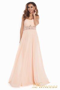 Вечернее платье 12016. Цвет розовый. Вид 3
