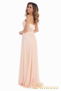 Вечернее платье 12016. Цвет розовый. Вид 6