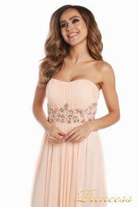 Вечернее платье 12016. Цвет розовый. Вид 4