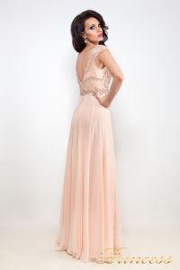 Вечернее платье 12019. Цвет розовый. Вид 2