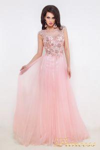 Вечернее платье 12020. Цвет розовый. Вид 3