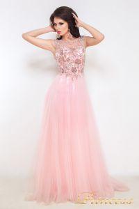 Вечернее платье 12020. Цвет розовый. Вид 2