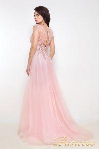 Вечернее платье 12020. Цвет розовый. Вид 4
