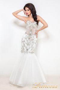 Свадебное платье 12021. Цвет белый. Вид 1