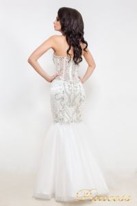 Свадебное платье 12021. Цвет белый. Вид 3