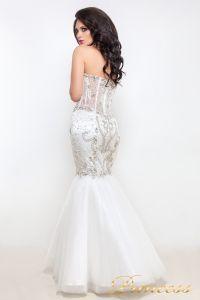 Свадебное платье 12021. Цвет белый. Вид 4