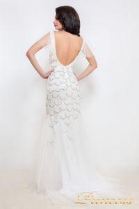 Свадебное платье 12029. Цвет белый. Вид 3