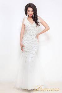Свадебное платье 12029. Цвет белый. Вид 1
