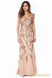 Вечернее платье 12036. Цвет розовый. Вид 2