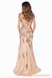 Вечернее платье 12036. Цвет розовый. Вид 4