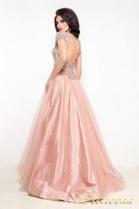 Вечернее платье 12040. Цвет розовый. Вид 3