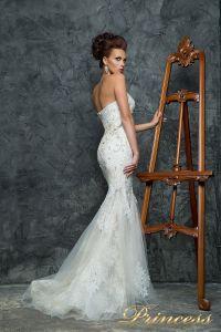 Свадебное платье 12043. Цвет белый. Вид 2