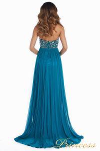 Вечернее платье 12044. Цвет зеленый. Вид 3