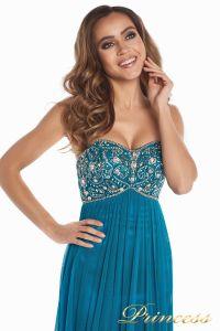 Вечернее платье 12044. Цвет зеленый. Вид 1
