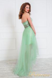 Вечернее платье на выпускной 12050. Цвет салатовый. Вид 3