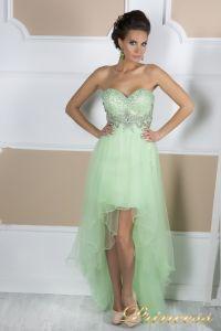 Вечернее платье на выпускной 12050. Цвет салатовый. Вид 2
