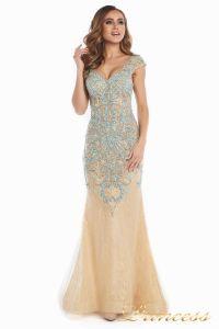 Вечернее платье 12053. Цвет золото. Вид 3