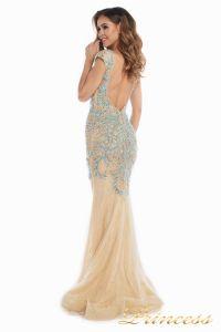Вечернее платье 12053. Цвет золото. Вид 4