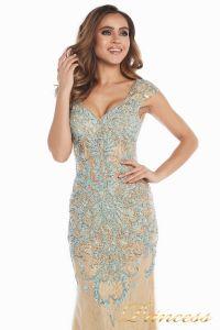 Вечернее платье 12053. Цвет золото. Вид 5