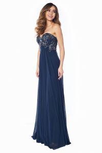 Вечернее платье 12056N. Цвет синий. Вид 4