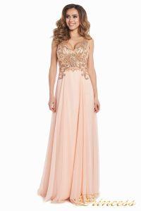 Вечернее платье 12068. Цвет розовый. Вид 2