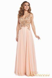 Вечернее платье 12068. Цвет розовый. Вид 3