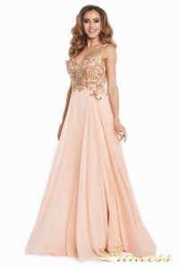 Вечернее платье 12068. Цвет розовый. Вид 4