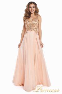 Вечернее платье 12068. Цвет розовый. Вид 5