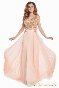Вечернее платье 12068. Цвет розовый. Вид 6