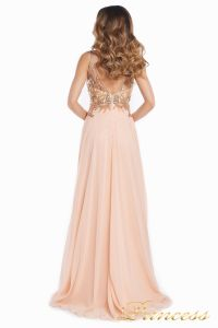 Вечернее платье 12068. Цвет розовый. Вид 7