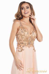 Вечернее платье 12068. Цвет розовый. Вид 9