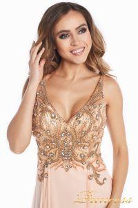 Вечернее платье 12068. Цвет розовый. Вид 10
