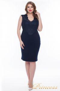 Вечернее платье 1207_navy. Цвет синий. Вид 1