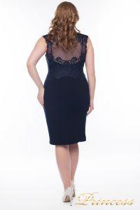 Вечернее платье 1207_navy. Цвет синий. Вид 3