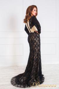Вечернее платье 12080. Цвет чёрный. Вид 2