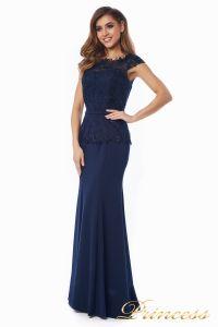 Вечернее платье 12084-1 navy. Цвет синий. Вид 1