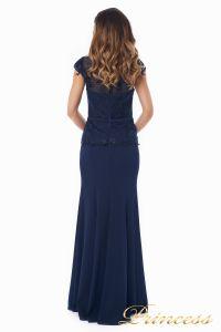 Вечернее платье 12084-1 navy. Цвет синий. Вид 3