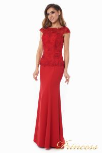 Вечернее платье 12084_red_smal. Цвет красный. Вид 1