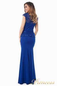 Вечернее платье 12084 royal small. Цвет электрик . Вид 3