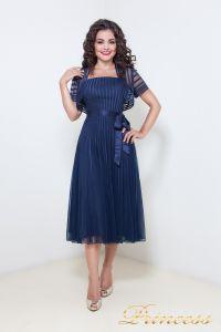 Вечернее платье 1208. Цвет синий. Вид 2